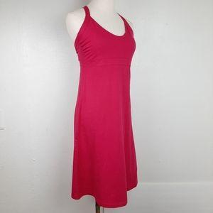 Patagonia Iliana Halter Dress Pink Shelf Bra M NWT